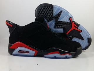 Jordan 6 Low Infrared Black