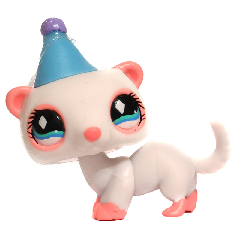 Littlest Pet Shop 3 Pack Scenery Ferret 520 Pet Lps Merch
