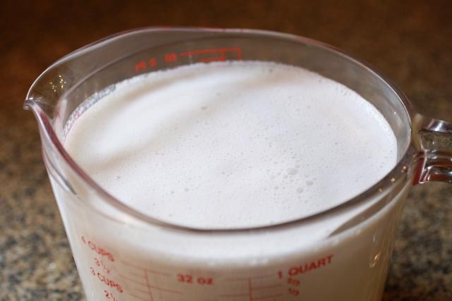 maní crudo licuado para sopa de maní