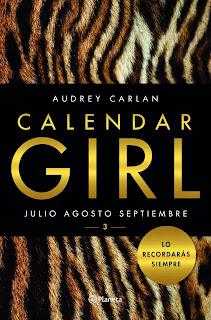 Calendar Girl 3 - Audrey Carlan