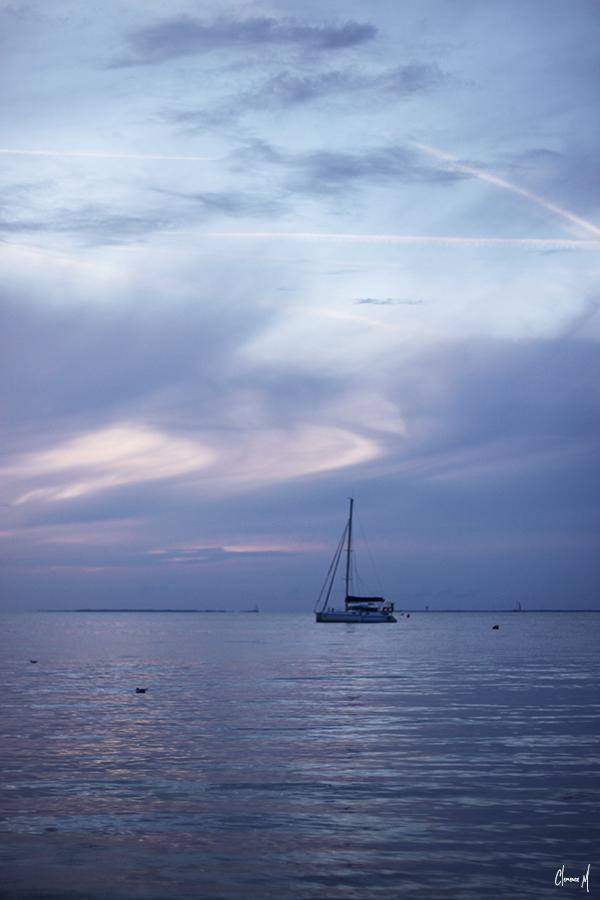 bateau île de ré clémence m coucher de soleil