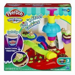 Play Doh Flip N Frost Cookie Set