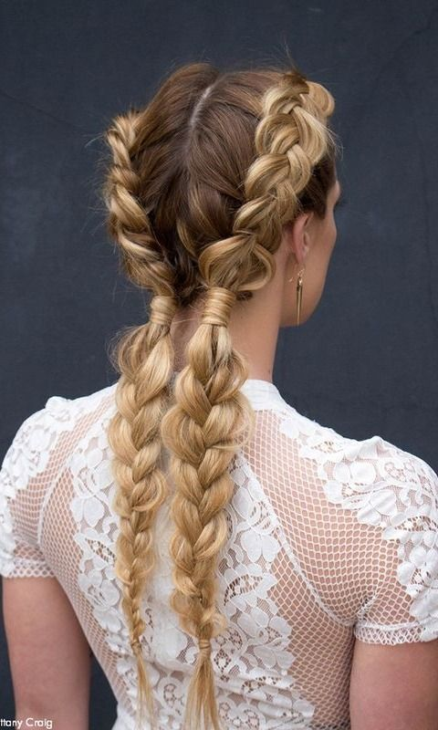 Braids That Look Just As Pretty At Work As On The Beach