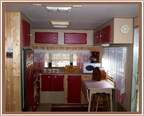 Travel Trailer Renovation Remodeling a Travel Trailer