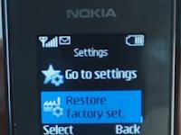 Cara Reset HP Nokia 105 - Kode Reset Nokia 105, Kode Pengaturan Awal