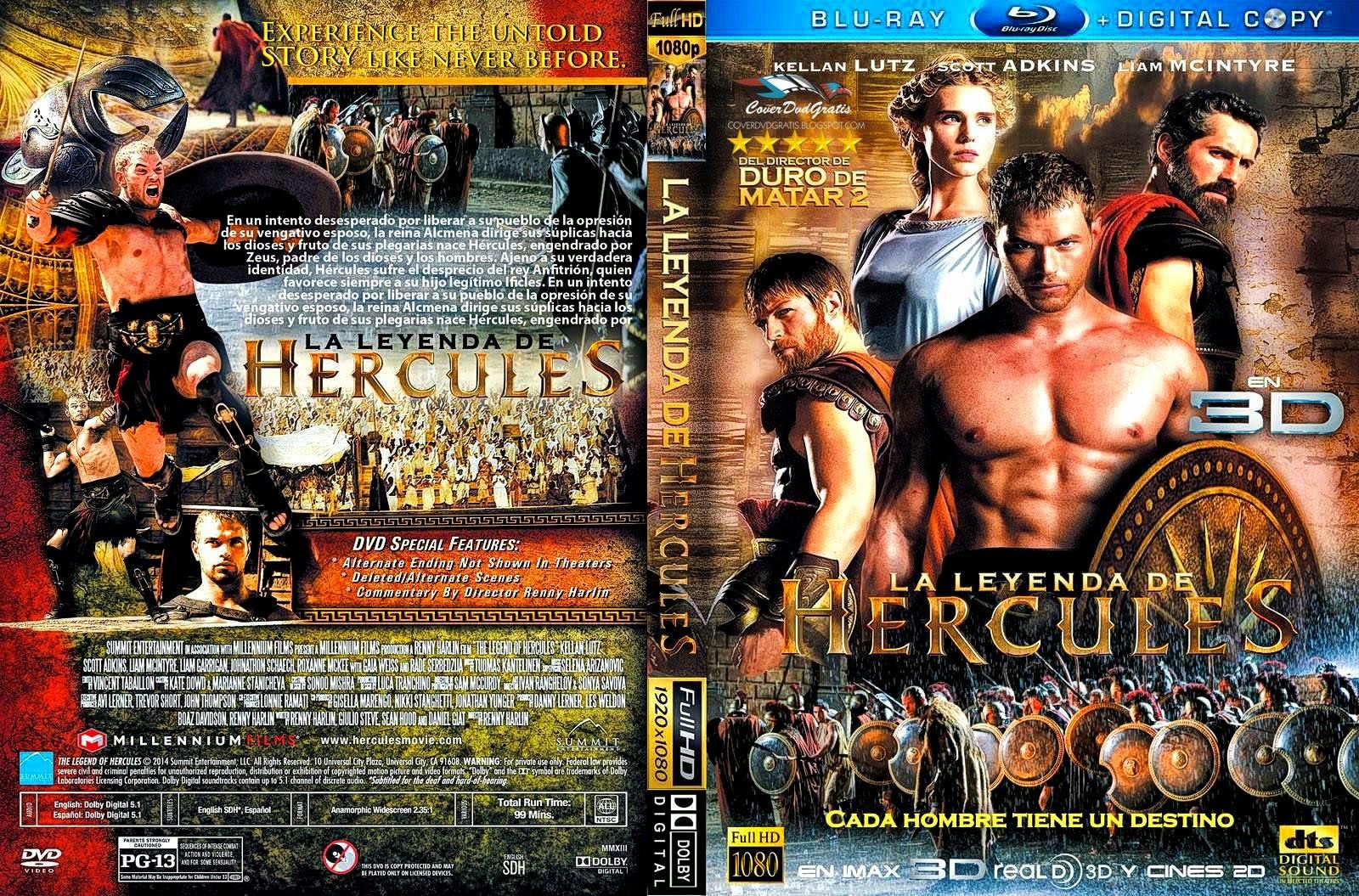The Legend of Hercules 2014 DVD COVER - CoverDvdGratis