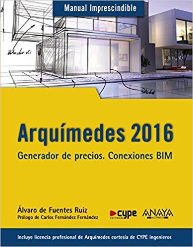 ARQUIMEDES 2016 GENERADOR DE PRECIOS CONEXIONES BIM