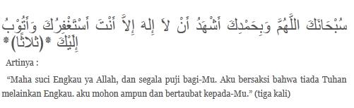 DO A PEMBUKA DAN PENUTUP MAJELIS ISLAM AGAMA SEMPURNA