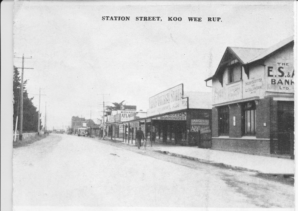 Koo Wee Rup Swamp History Koo Wee Rup Anz E S Amp A Bank
