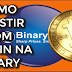 INVESTINDO COM BITCOIN NA BINARY OPTIONS