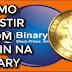 INVESTINDO COM BITCOIN NA BINARY OPTIONS