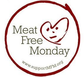 """Logo akcji """"Poniedziałki bez mięs"""""""