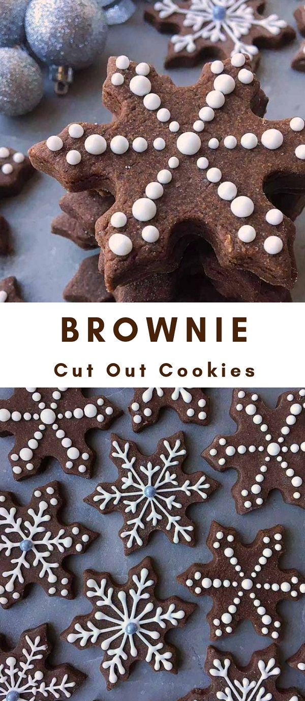 The Best Brownie Cut Out Cookies