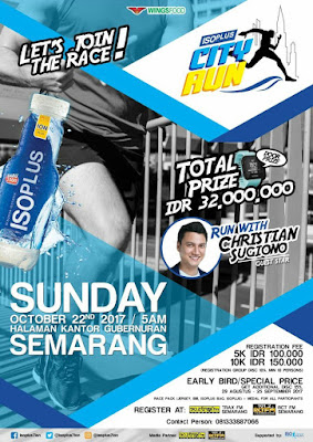 Poster Isoplus City Run 2017