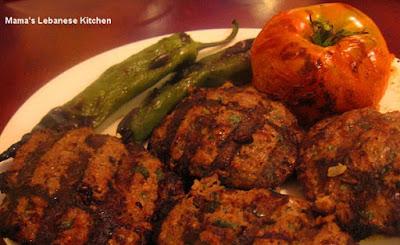Grilled Kafta Kabob