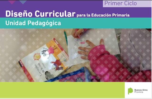 Dise o 2018 en proceso educaci n primaria for Diseno curricular primaria