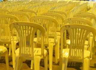 muslim man steals chairs rccg church