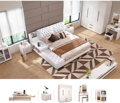 Tổng hợp các mẫu thiết kế giường ngủ đa năng