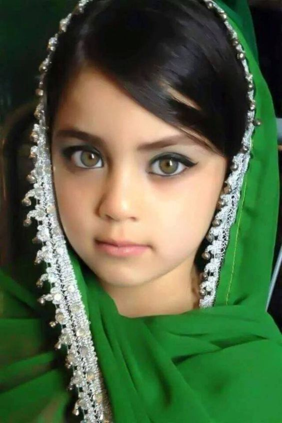 Kashmiri Eyes Kids with Beautiful Ey...