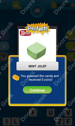 Answers, Cheats, Solutions for Guess the Candy Level 86 for android and iphone