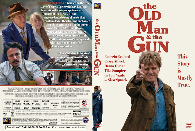 The Old Man And The Gun DVD Cover DVD Cover