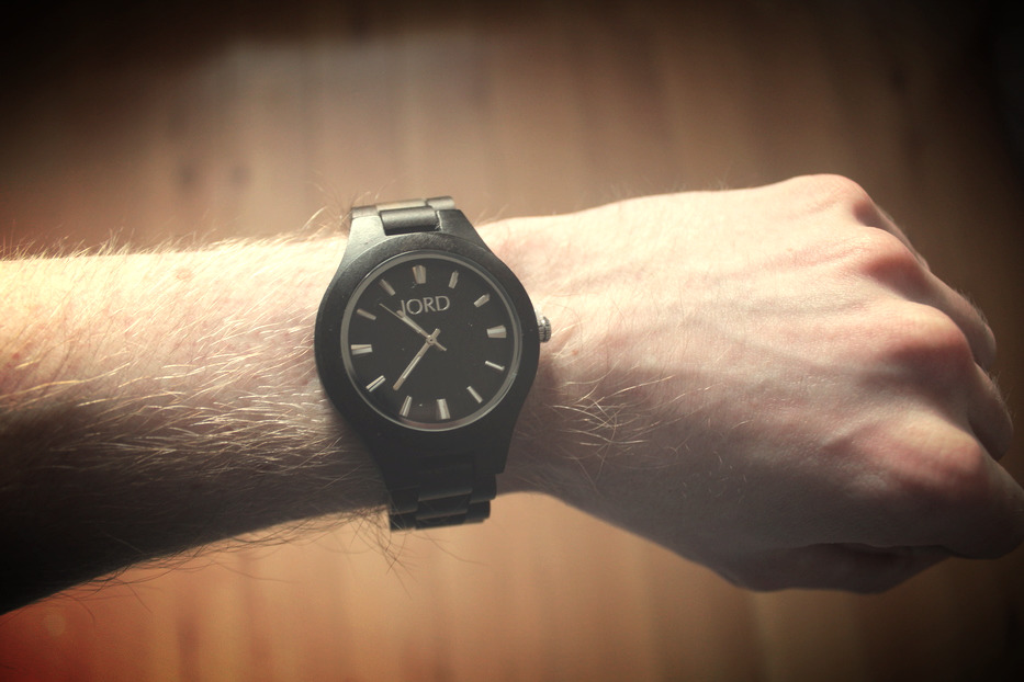 Vegan wooden watch