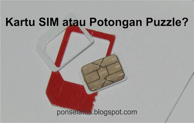 sim card, potongan sim card