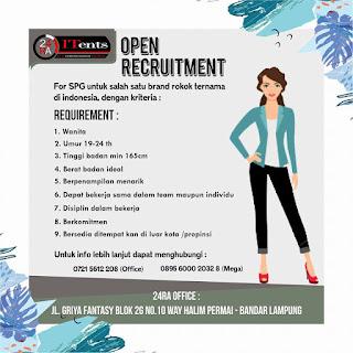 Karir Lampung Terbaru di 24RA ORGANIZER OFFICE Bandar Lampung Januari 2018