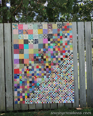 Four Patch work pattern by Temecula Quilt Co