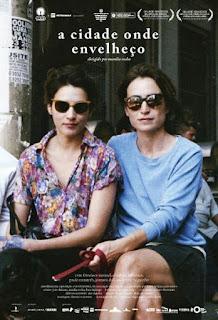 """Poster do filme """"A Cidade Onde Envelheço"""""""