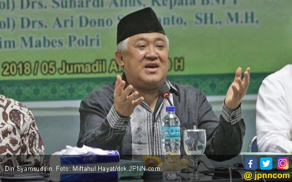 3 Alasan Din Mengundurkan Diri dari Jabatan Utusan Presiden
