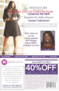 free Ashley Stewart coupons december 2016