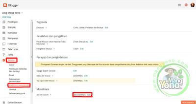 Cara Pasang Ads.txt Google Adsense di Blogger