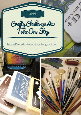 Crafty Challenge #22 Take One Step