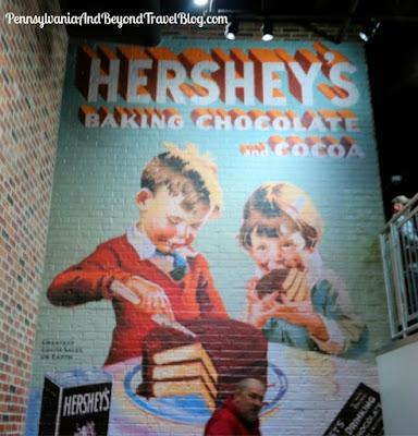 Hershey's Chocolate World in Hershey, Pennsylvania