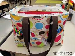 Lesson plans, lunch, grading papers...bags for teachers