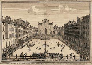 Calcio Florentino siglo XVII