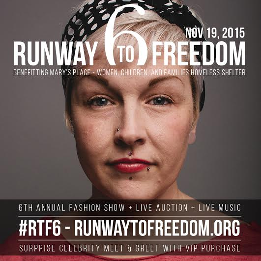 Runway to Freedom: Fashion Show Benefit  Seattle
