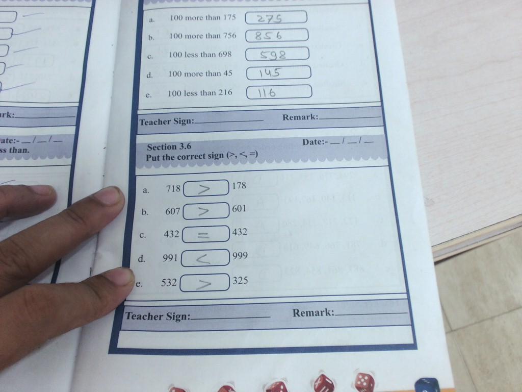 Gr.II,Sub.-Maths:- Ch-3(T.B.,W.B.,N.B.,Mental Math) | Standard 2
