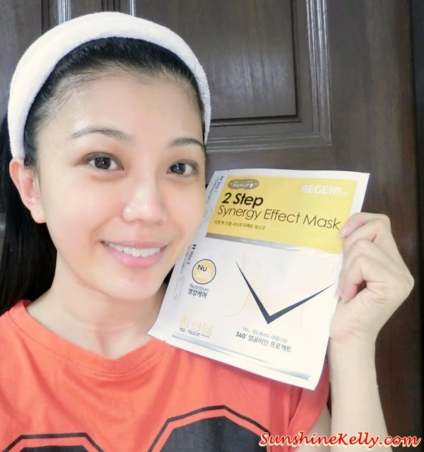 Beauty Review, Regen Cosmetic 2 Step Synergy Effect Mask Nutrition, regen Cosmetic, 2 step Synergy Effect Mask, nutrition, whitening, anti aging, pore care, moisturizing, mask review, hermo malaysia, beauty online store