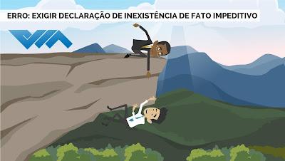 Erro se tornou praxe e quase a totalidade dos editais no Brasil