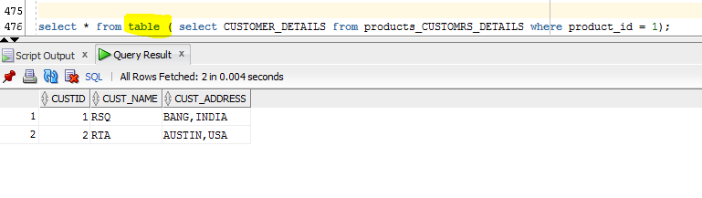 PL/SQL Composite data type - Collections (Associative array, VARRAY