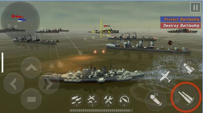 Game Keren WARSHIP BATTLE:3D World War II v1.3.0 Terbaru Gratis