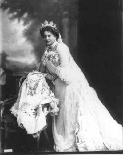 Suniti Devi, Maharani of Cooch Behar in 1902