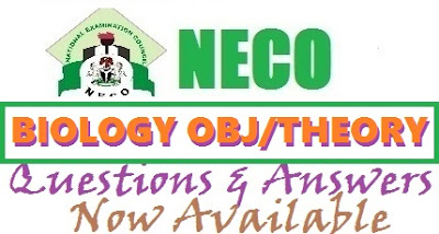 NECO Biology 2017 Expo Answers | OBJ and Theory Questions (Real/Verified)