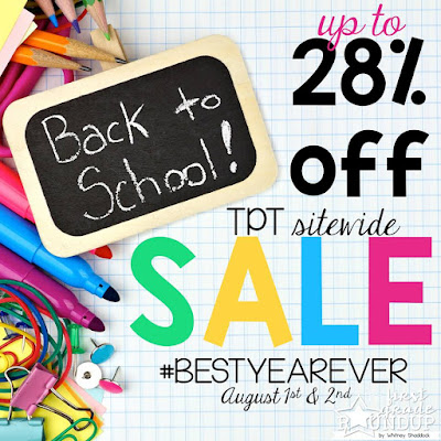 August 1 and 2 on TPT  28% off