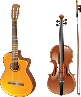 Earn money teaching string instruments like guitar, violin, Piano.