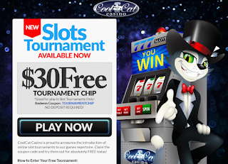 $30 Free Tournament Buy-in Token | Cool Cat Casino
