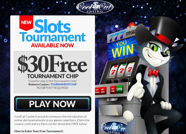 $30 Free Tournament Buy-in Token | Cool Cat Casino