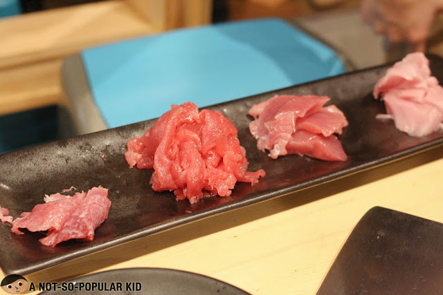 Different cuts of Tuna Fish in Ichiba